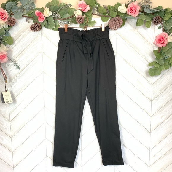 64a288f5 Zara Pants   Trf Collection Black Jogger Small   Poshmark